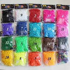 bracelet color bands images Normal color rubber band colorful loom bands 600 pcs 24 s clip jpg