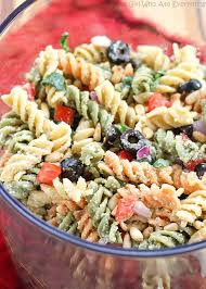 feta and vegetable rotini salad the who ate everything