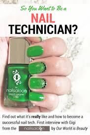 our beauty pro series kick off gigi u0027s advice for future nail