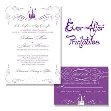 email wedding invitation to disney wedding invitations