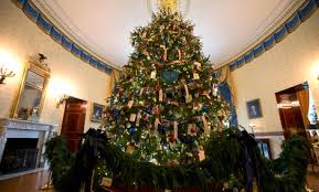 modest design white house tree ornaments look at