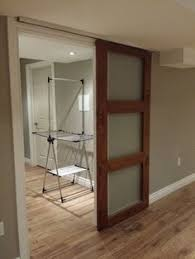 Installing Interior Sliding Doors Ceiling Mounted Barn Door Same Opening Type As Ours Wall On One