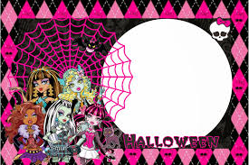Halloween Monster High Doll Monster High Halloween Special Free Printable Kit Is It For
