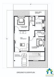 2bhk floor plan 1 bhk floor plan for 20 x 45 feet plot 900 square feet