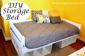 Building Platform Bed With Storage Drawers by Bed Frames Diy Twin Platform Bed With Storage King Beds With