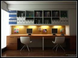 Office Desk For Two Two Person Desk Home Office View In Gallery Multi Person Home