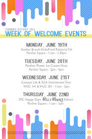 Fiu Campus Map Upcoming Events Panther Power Ice Cream Hour Fiu Calendar