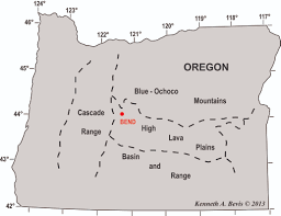 Map Of Eastern Oregon by Geology Of The Central Oregon Cascades U2013 In The Playground Of Giants