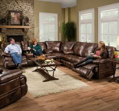 Rustic Sectional Sofas Furniture Cool Leather Sectional Sofa Designs Sipfon Home Deco
