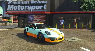 gulf racing porsche 911 r gulf racing gta5 mods com