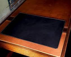 Black Leather Desk Mat Leather Table Mat Chromexcel Brown Leather Desk Mat Custom