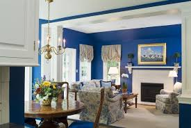 Dining Room Wall Paint Blue Living Room Attractive Minimalist Blue Wall Colors Scheme Living