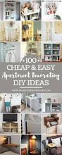 Bedroom Diy Decorating Ideas Best 25 Diy Apartment Decor Ideas On Pinterest College