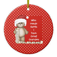 Grandparent Christmas Ornaments Great Grandparents Ornaments U0026 Keepsake Ornaments Zazzle