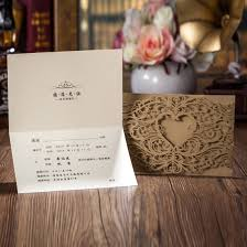Engagement Invitation Cards Images Amazon Com Wishmade Laser Cut Invitations Cards Sets Gold 50