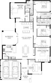 floor single storey house plans space planning best images on