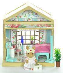 sylvanian families decorated master bedroom set for house lots of