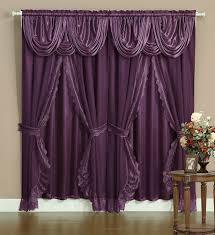 amazon com victorian style bombay curtain set 120