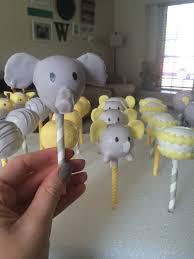 cakepops yellow u0026 gray baby shower courtney u0027s craftin u0026cookin