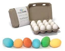 faux eggs for decorating eggnots dyeable ceramic eggs offer easter decorating for