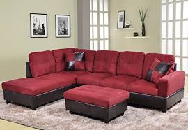Red Sofa Set by Red Sofa Amazon Com