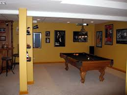endearing ideas for finishing concrete basement walls with ideas