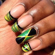 rasta nails nails pinterest rasta nails nail nail and