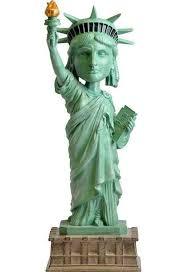 statue of liberty bobblehead bobble figure ebay