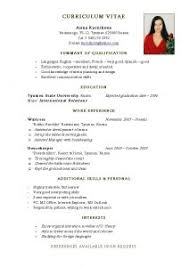 The Best Sample Of Resume by Examples Of Resumes 87 Wonderful Sample Resume Format In Canada