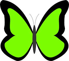 green butterfly clipart free download clip art free clip art