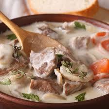 recette blanquette de veau à l ancienne