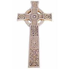 celtic cross wall hanging st s celtic cross 15 the catholic company