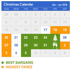 Best Deals For Thanksgiving 2014 The Cheapest Days To Fly For Christmas Cheapair