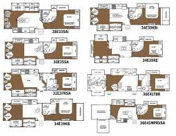 Fleetwood 5th Wheel Floor Plans Glendale Titanium Fifth Wheel Floorplans Small Picture Click