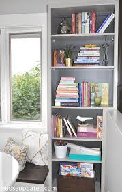 Tree Of Knowledge Bookshelf Diy Walnut Floating Shelf Sink Vanity House Updated