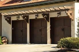 trellis over garage door i think it has a pergola over the
