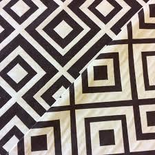 osepx100 a chocolate u0026 white diamond geo geometric upholstery home