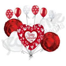 valentines day baloons grafitti hearts happy valentines day balloon bouquet jeckaroonie