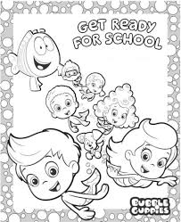 bubble guppies coloring pages nywestierescue com