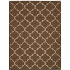 5x7 Outdoor Rug 5 X 7 Brown Outdoor Rugs Rugs The Home Depot