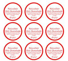 diy rudolph chocolate gift free printable label