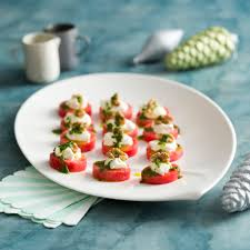 sur le canap ou dans le canap watermelon canapes with feta and walnuts thermomix festive