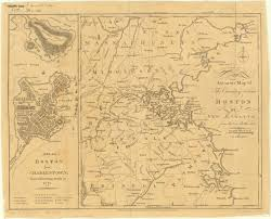Massachusettes Map by Boston Massachusetts 1776 American Geographical Society Library