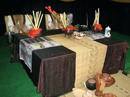 African Inspired Living Room Gallery by Decorations My African Table Setting Mollys Wedding Pinterest