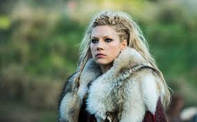 lagertha lothbrok hair braided wallpaper women model blonde blue eyes actress katheryn