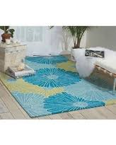 Nourison Fantasy Aqua Rug Check Out These Bargains On Nourison Hand Hooked Fantasy Blue