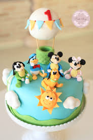 baby mickey and friends birthday cake bebek mickey ve