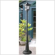 Outdoor Solar Lamp Post by Outdoor Solar Powered Lamp Post Lamps Home Decorating Ideas