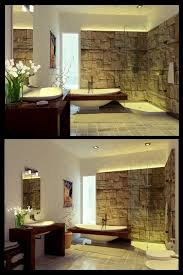Best Beautiful Bathrooms Images On Pinterest Beautiful - Stone bathroom design