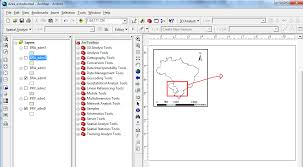 Layout View Zoom | arcgis desktop adding independent panel in arcmap layout view